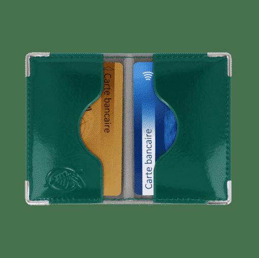 etui 2 cartes blindé anti piratage anti-rfid etui carte bancaire porte carte bancaire my color pop petite maroquinerie made in France fabrication francaise
