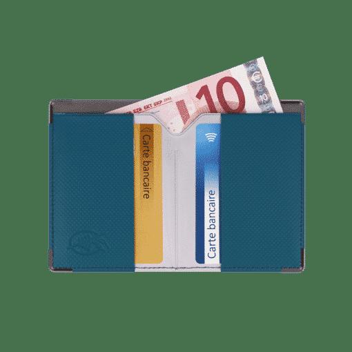 portefeuille plat anti piratage rfid etui carte bancaire porte carte bancaire my color pop petite maroquinerie made in France fabrication francaise
