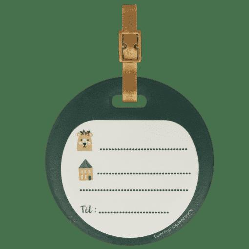 étiquette bagage enfant bebe étiquette sac voyage valise avion train bateau cartable sac de sport sac crèche sac a dos my color pop petite maroquinerie made in france fabrication francaise