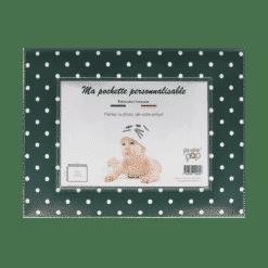 etui enveloppe mes premières fois échographie bracelet de naissance dessin enfant bébé personnalisable photo enfant bébé my color pop petite maroquinerie made in france fabrication francaise