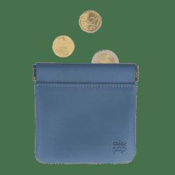 Porte-monnaie Porte-clés My color Pop® Clic Clac - PU - 2 compartiments : 1 pour la monnaie, 1 pour les clés - 11 x 5 cm -