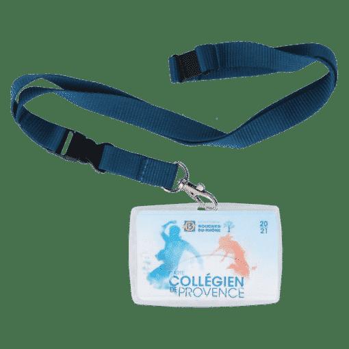 porte badge my color pop badge entreprise carte accès carte de bus carte de transport carte de cantine carte scolaire carte daccèe petite maroquinerie made in France fabrication francaise
