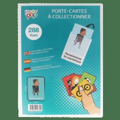 etui cartes à collectionner my color pop petite maroquinerie france panini pokemon
